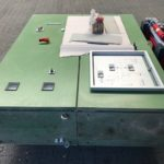 Switch cabinet, Used Filter Press / F-1124_4 carda-used-machines.com